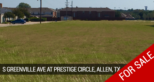 S Greenville Ave at Prestige Circle, Allen, TX